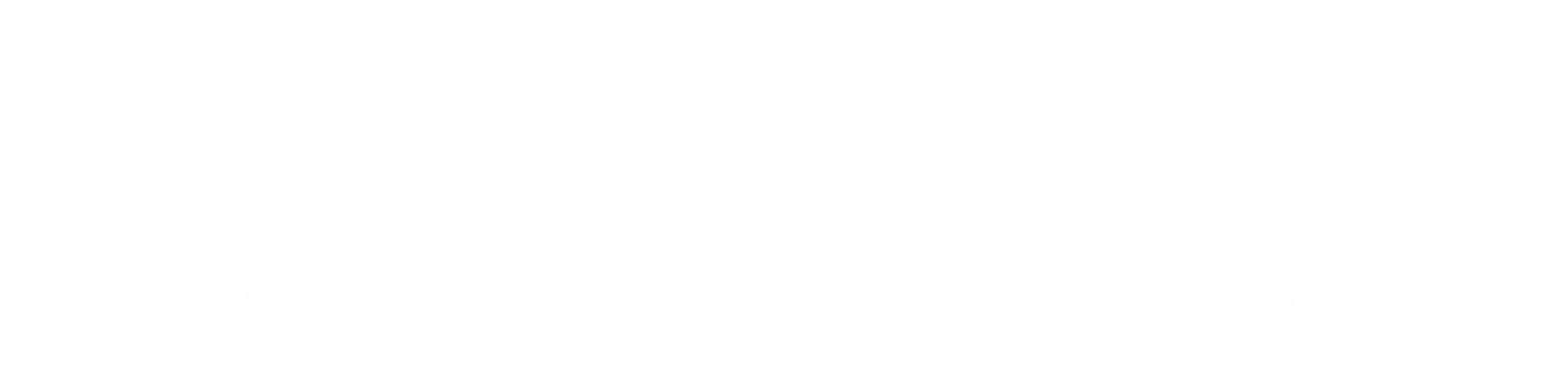 Hanover Law Review